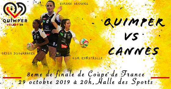 Coupe de France : Quimper reçoit Cannes