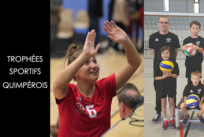 3 nommés aux Trophées Sportifs Quimpérois pour le Quimper Volley 29