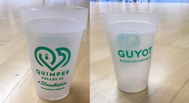 Le Quimper Volley 29 et Guyot Environnement s'associent pour une démarche éco-responsable