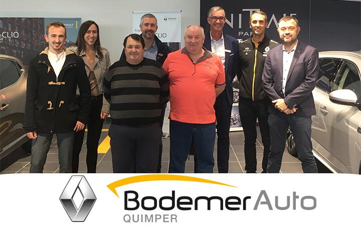 Retour sur le déplacement à Rennes avec notre partenaire Renault Bodemer Auto Quimper !