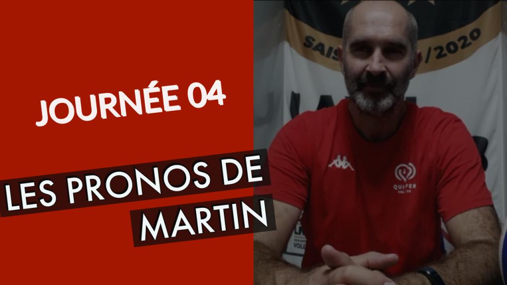 [PRONOS] Les pronostics de Martin pour le compte de la 4ème journée !