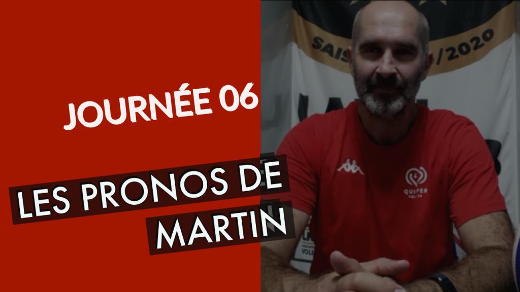 [PRONOS] Les pronostics de Martin pour cette 6ème journée