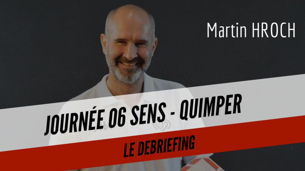 [DEBRIEF] Le débriefing de Martin après la victoire contre Sens