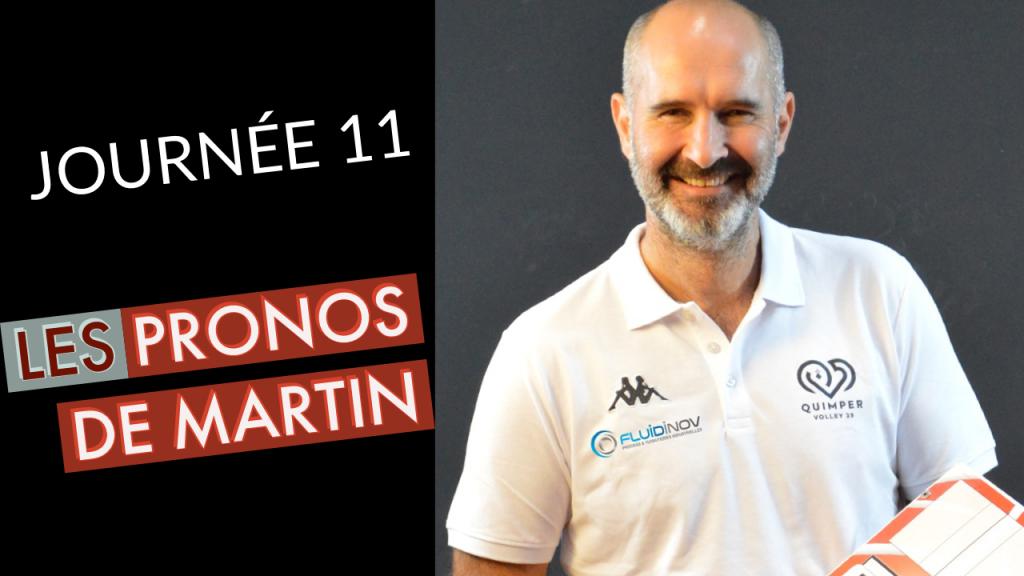 [PRONOS] Les pronos de Martin HROCH pour la 11ème journée !