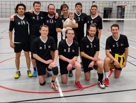 L'équipe Régionale Masculine du Quimper Volley