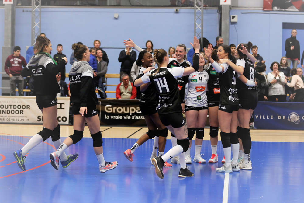 [JOURNÉE 11] Retour sur la victoire du Quimper Volley 29 face à l'IFVB2