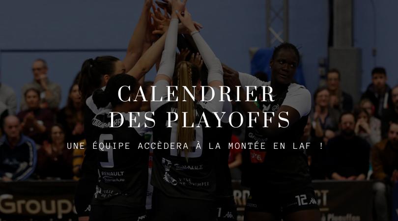 Calendrier matchs de Playoffs – Equipe Elite