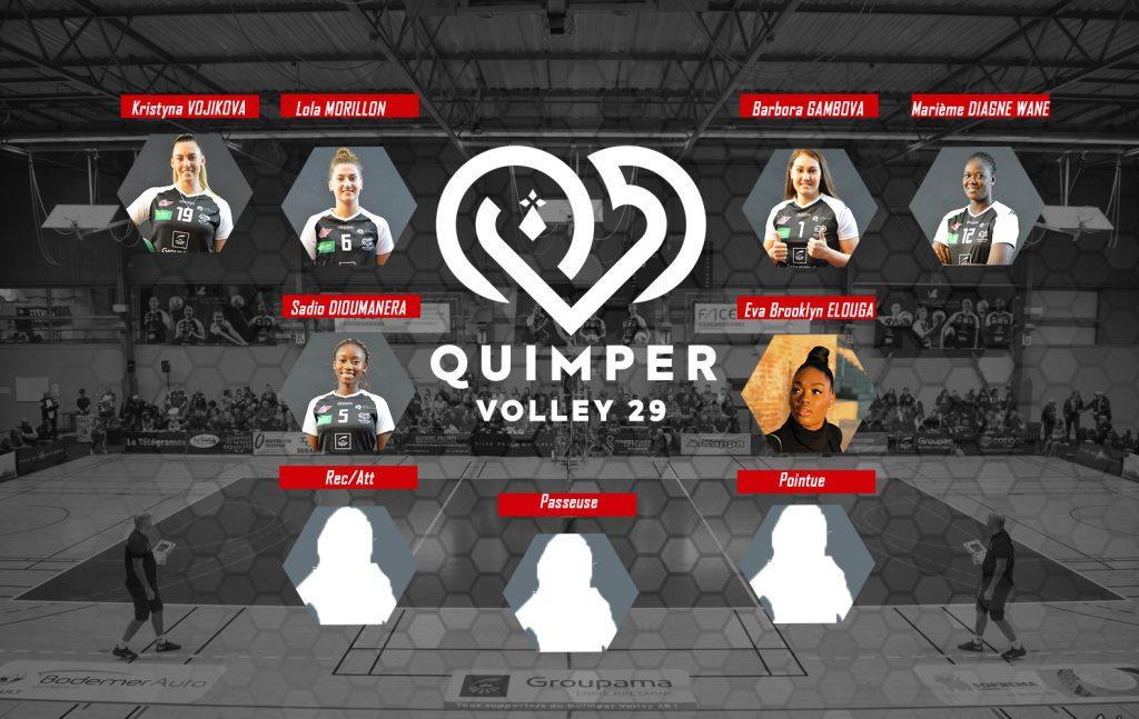 Prolongations au Quimper Volley 29 : Marième, Barbora …