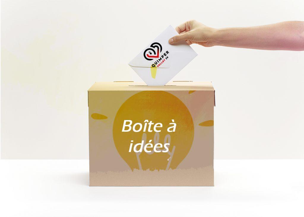 Boîte à idées : à vos suggestions !