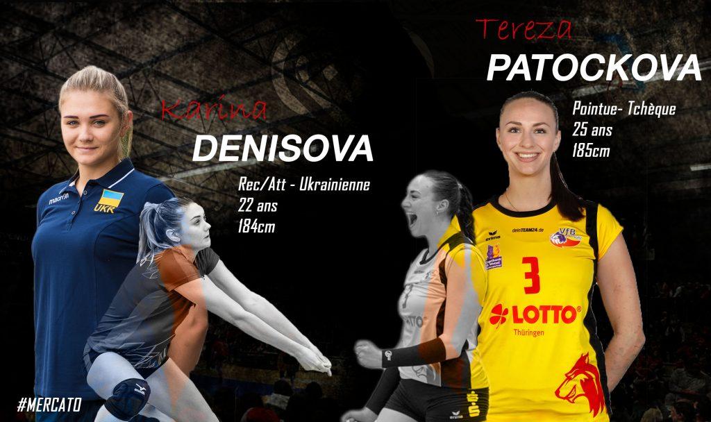 Deux nouvelles recrues au Quimper Volley 29 !