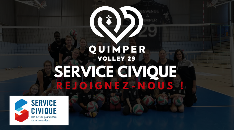 Le Quimper Volley recherche un volontaire !