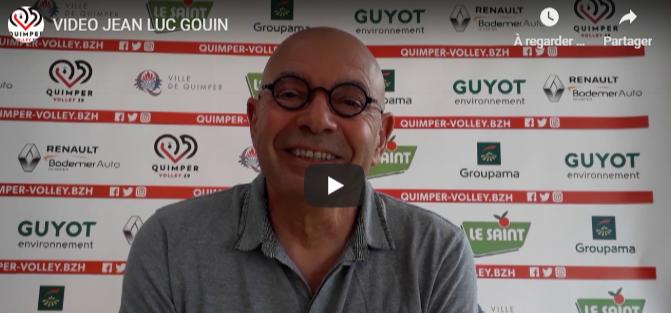 Entretien avec Jean Luc GOUIN président du Quimper Volley 29