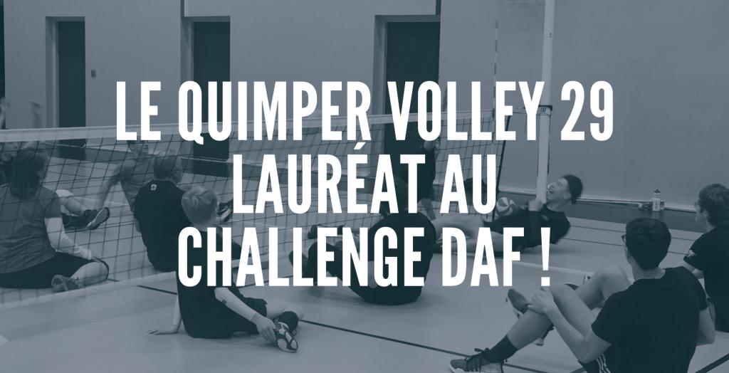 Le Quimper Volley 29 récompensé par la FFVB !