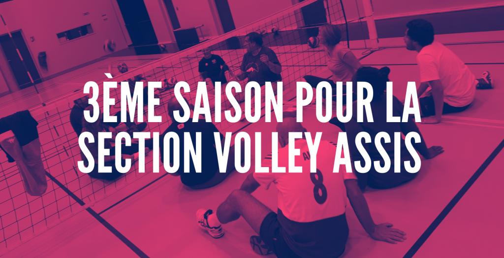 La section Volley-Assis débute sa 3ème saison au QV29 !