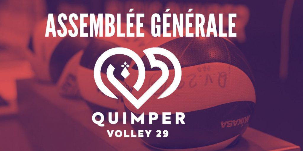 Quimper Volley 29 : Assemblée Générale