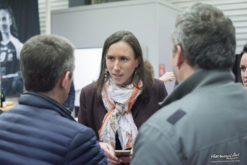 Rencontre avec Thuriane LE GUEN responsable des partenariats au Quimper Volley 29